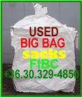 Big Bag saks,bulk bags, FIBC new and use, 2014, Warehouse equipment - other