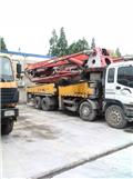 Isuzu 48M, 2010, Concrete pump trucks