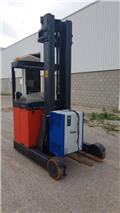 Linde R20 Reach truck second hand Daewoo., Carretillas retráctiles