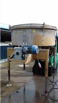 concrete pan batching plant Mummut Italian made, Concrete/mortar mixers