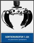 DMS Sortiergreifer SG3535, Pinzas