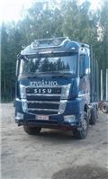 Sisu CK16M K-AKK-8X4 ASIAKKAAN LUKUUN, 2017, Timber trucks