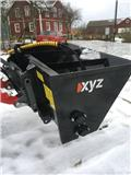 XYZ sandspridare 800-1000 liter, Esparcidoras de arena y sal