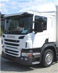Scania P 450 EURO 6 HYVA 20 ton koukku, 2014, Rol kiper kamioni sa kukom za podizanje tereta