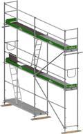 Леса строительные  telka 54m2 scaffolding ponteggio andamio PIN74, 2020