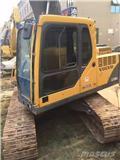 Volvo EC 140 B LC, 2010, Excavadoras sobre orugas