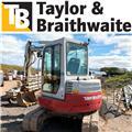Takeuchi TB153FR, 2010, Mini excavators < 7t (Mini diggers)