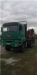 MAN 33.440, 2007, Timber trucks