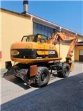 JCB JS 145 W, 2010, Wheeled excavators