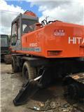 Hitachi EX 160 WD, Mga wheeled excavator