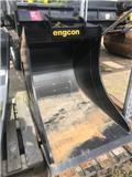 Engcon Djupgrävskopa 650liter 900mm S60 520kg, 2018, Kausi