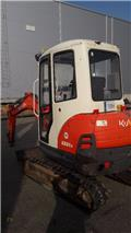 Kubota KX 61-3, 2011, Mini ekskavatoriai < 7 t