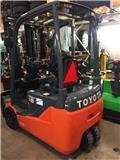 Toyota 8FBEK18T、2016、電動堆高機