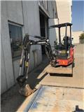 Eurocomach ES 18 ZT, 2017, Mini ekskavatörler, 7 tona dek