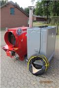 Heizung Komplett Set 174 KW Zeltheizung Jumbo 150, 2011, Heating and thawing equipment