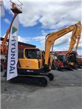 Hyundai Robex 80 CR-9, 2017, Mini excavators  7t - 12t
