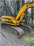 JCB JS 130, 2002, Crawler excavators