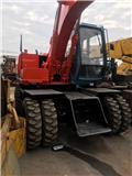 Hitachi EX 100 W D, 2010, Mga wheeled excavator