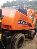 斗山 DH 210 W-7、2015、轮式挖掘机