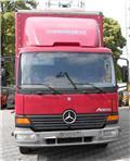 Mercedes-Benz Atego 818، 2004، شاحنات بغطاء جانبي
