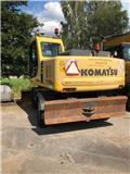 Komatsu PW150ES, 2002, Wheeled Excavators