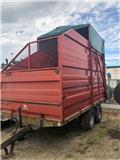 Прицеп-зерновоз Weckman 12ton Volymvagn 20kubik