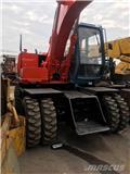 日立建机 EX 100 W D、2010、轮式挖掘机