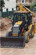 Caterpillar 432 D, 2001, Retrocargadoras