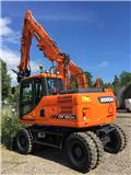 Doosan DX 160 W, 2017, Wheeled Excavators
