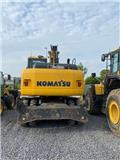 Komatsu PW160-7, 2011, Wielgraafmachines