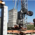 Benedini B25 ID city, 1997, Self erecting cranes