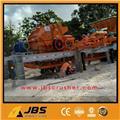 JBS 100 tons per hour Mobile stone Crushing Plant, 2017, Penghancurs