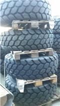 Bridgestone 17,5-25 VJT, dubbade, Tyres, wheels and rims