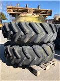 Traktordäck 18,4R38, Rehvid, rattad ja veljed