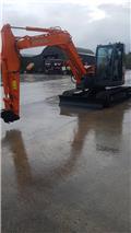 Hitachi ZX 85 US B LC-3, 2011, Midi excavators  7t - 12t