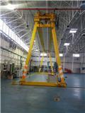 6.3T gantry crane - 15,5 m, 1999, Mostové a portálové jeřáby