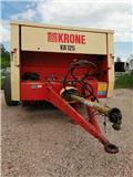 Krone KR 125, Round balers