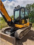JCB 86c, 2019, Mini excavators  7t - 12t