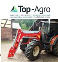 Трактор погрузчик Top-Agro MT02 front loader 1600 kg for SAME SILVER  90, 2018