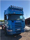 Scania R 124 GB, 2003, Container Frame trucks