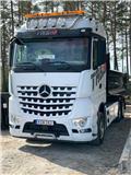 Mercedes-Benz Arocs, 2016, Rol kiper kamioni sa kukom za podizanje tereta
