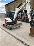 Bobcat E 50, 2014, Mini excavators < 7t (Mini diggers)
