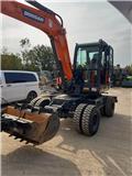 Doosan DX57W-5, 2019, Excavadoras de ruedas