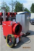 Biemmedue Heizung Set Jumbo 115 MC 133 KW Zeltheizung Hallen, 2012, Heating and thawing equipment