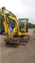 Yanmar Vio 50 U, 2011, Mini excavators < 7t (Mini diggers)
