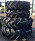 BKT 380/85R28 and 460/85R38, Tyres, wheels and rims