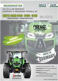 Deutz-Fahr 6120-6130-6140, 2018, Traktorok