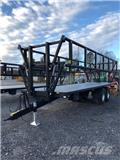 Palmse B 3925 - 19 Ton, 2018, Plateau à paille