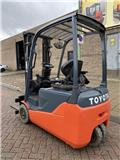 Toyota 8 FB ET 16, 2015, Electric forklift trucks