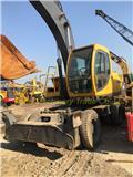 Volvo EW 170, 2014, Mga wheeled excavator